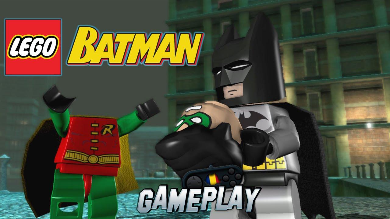 LEGO Batman The Videogame PC Gameplay - YouTube