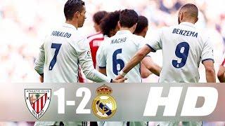 real madrid vs athletic bilbao 2 1 all goals hd 1080i