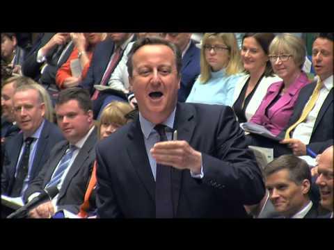 Prime Minister's Questions: 20 April 2016