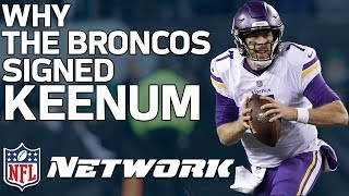 What Case Keenum will Bring to Denver | Film Review | NFL Network