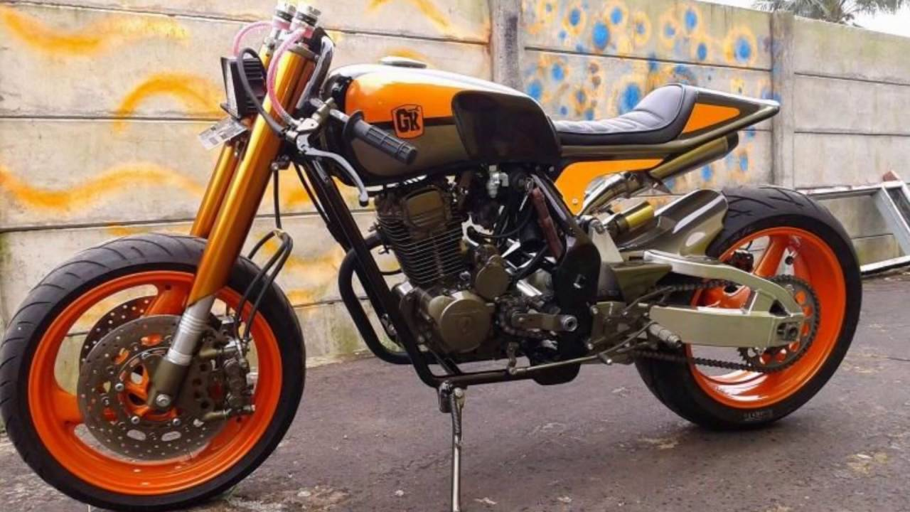 honda new honda megapro 150cc cafe racer japstyle modification