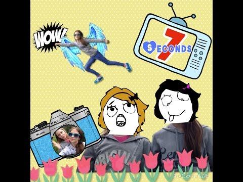 7 seconds с crazy friends/bloopers