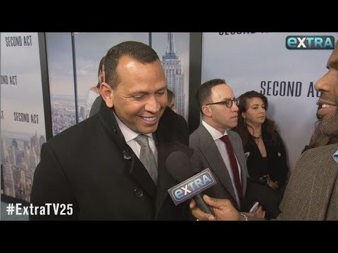 Alex Rodriguez Gushes Over Jennifer Lopez's Latest Red-Carpet Look