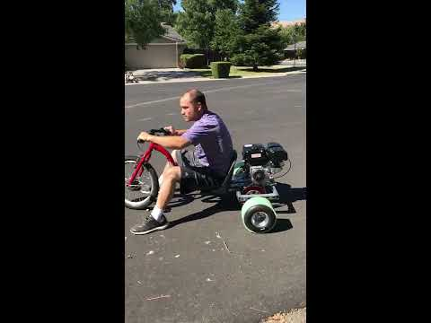 how to:  drift trike under $300 with no welding