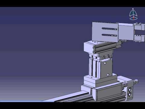 Робот-перекладчик. 3D-модель