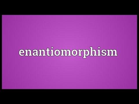 Header of enantiomorphism