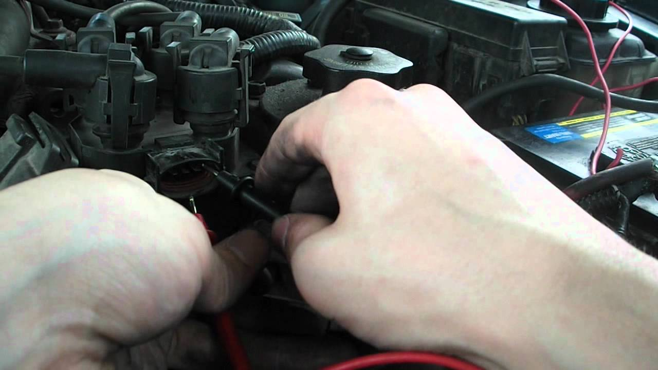 how to resistance test a coil pack 1996 thunderbird [ 1280 x 720 Pixel ]