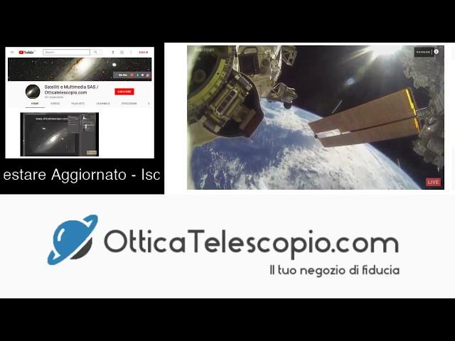 Diretta Live: ISS Stazione Spaziale