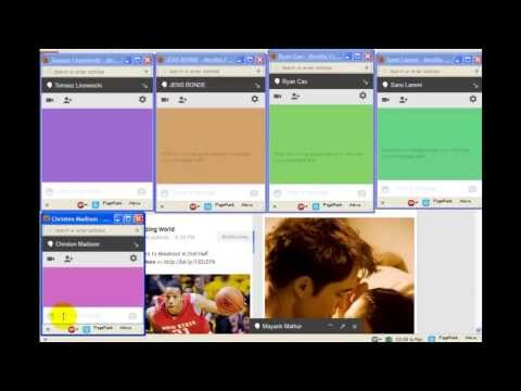How To Change Background Color Of Hangout (chat Window) In Google Plus