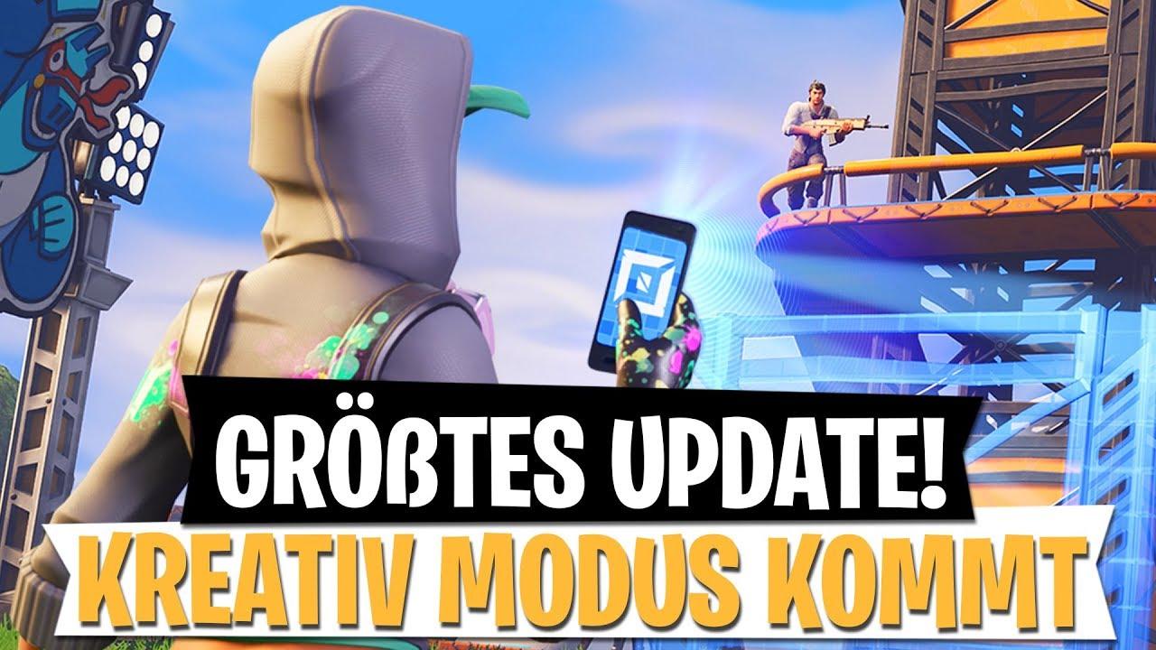Das Grosste Update Kreativ Modus In Season 7 Fortnite Battle