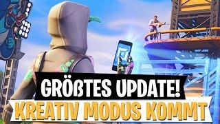 DAS GRÖßTE UPDATE ! Kreativ Modus in Season 7 | Fortnite Battle Royale