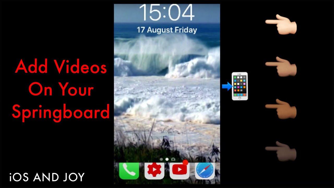 vWallpaper 2 (iOS 11) Tweak iOS 11.3.1 - YouTube