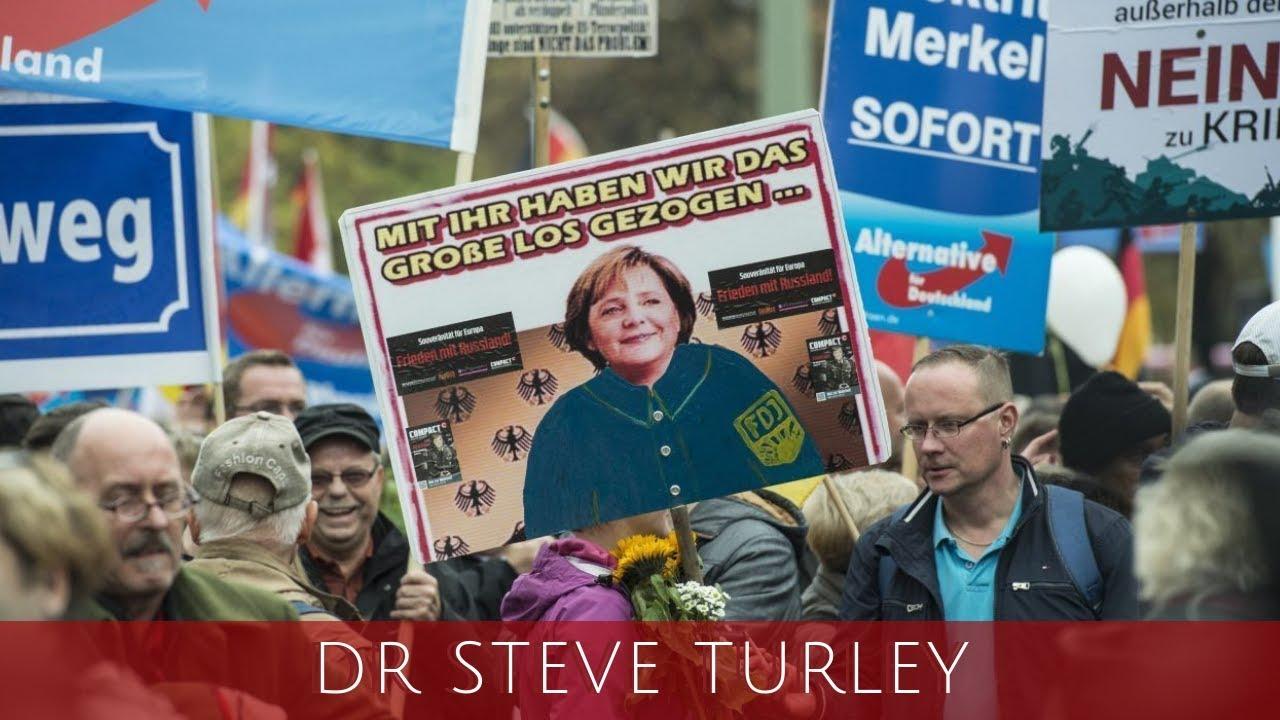 Dr. Steve Turley Merkel's EU Nightmare as Nationalist AfD SURGES Throughout Germany!!!