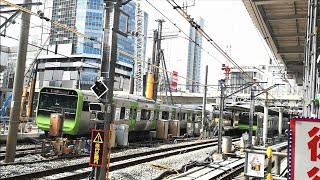 【6.1新ホーム供用開始】移設工事中のJR渋谷駅 埼京線現行ホームの状況 2020年4月
