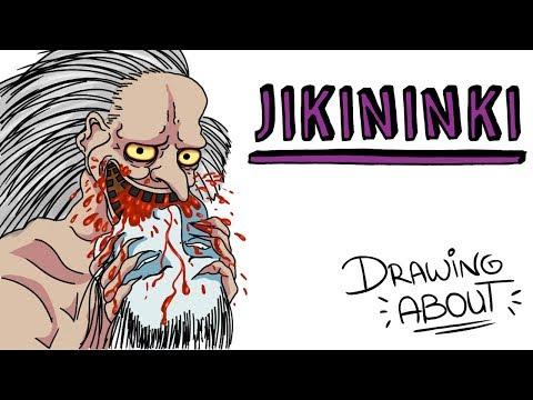 JIKININKI LA LEYENDA JAPONESA DEL DEVORADOR DE CADÁVERES | Draw My Life