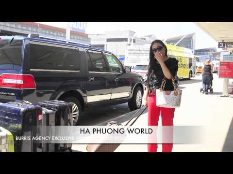 Ha Phuong Departing LAX International Airport