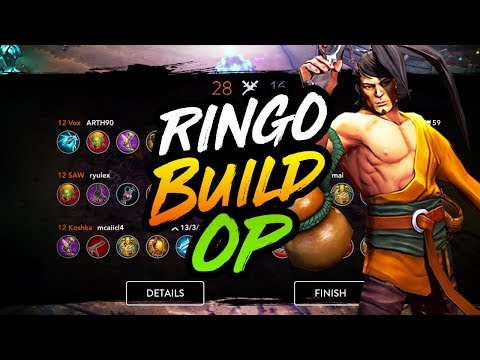 NEW RINGO BUILD MAY BE BROKEN - Vainglory 5V5