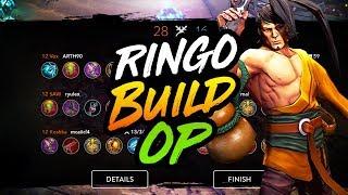 NEW RINGO BUILD MAY BE BROKEN - Vainglory 5V5