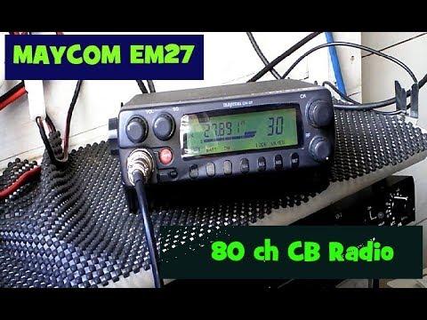 Maycom EM27 80 channel legal UK CB Radio.