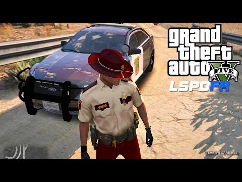 LSPDFR #451 - STATE TROOPER!! (GTA 5 REAL LIFE POLICE MOD) MINNESOTA