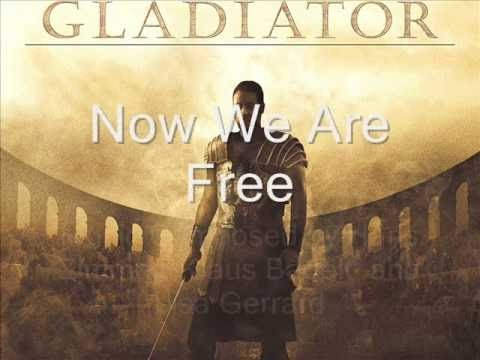 Now We Are Free Lyrics + English Translation 4K Gladiator Soundtrack  Hans Zimmer & Lisa Gerrard