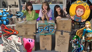 KHILAF UNBOXING BANYAK FIGURE GAME SEKALIGUS,OKAMI AMATERASU,ZELDA,LUIGI dari F4F x GOOD GUY STORE!!
