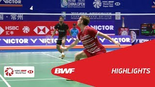 VICTOR CHINA OPEN 2018 | Badminton MS - R32 - Highlights | BWF 2018