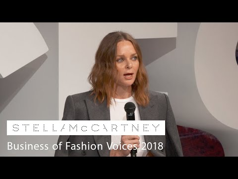 Stella McCartney at #BoFVOICES 2018