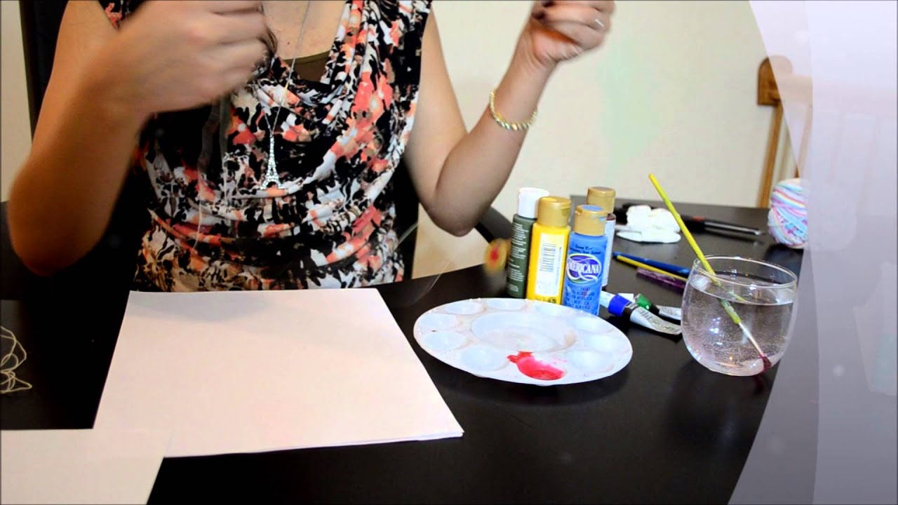 Interior Decoration Of Home Thread Painting Paint With Thread Youtube
