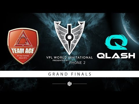 ACE Vs Qlash - Vainglory Premier League World Invitational Grand Finals