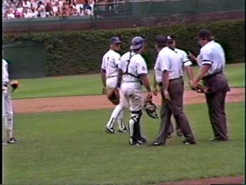 Cubs batboy Sept. 2, 1990
