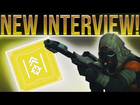 Destiny 2 News. New Luke Smith Interview! Fixed Rolls Staying, Level Cap, End Game, Collections etc.