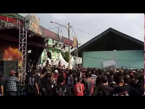 Crewsakan - Bhineka Tunggal Ika Live at Hellprint Monster Tour 2016
