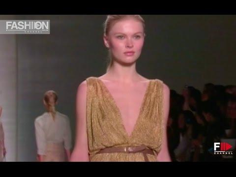 ELIE TAHARI  -  London Spring Summer 2011  - Fashion Channel