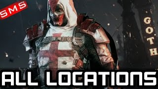 Batman: Arkham Knight ALL AZRAEL LOCATIONS + ENDING!
