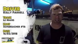 Driver Profile - Kelly Farrell | Kingston Park Raceway Brisbane & Gold Coasts Best Go Karting