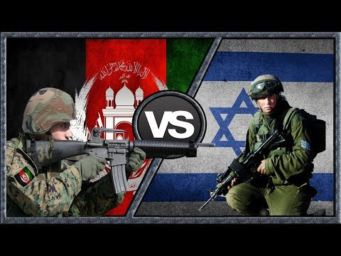Afghanistan VS Israel - Military Power Comparison 2018