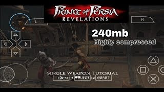 PRINCE OF PERSIA GAME DOWNLOAD HIGHLY COMPARSSED PSP ANDROID || HD GAMEPLAY || (HINDI)