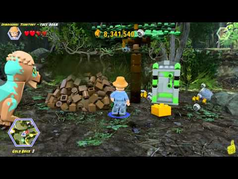 Lego Jurassic World: Spinosaurus Territory FREE ROAM (All Collectibles) - HTG