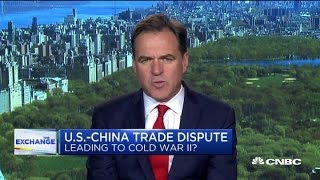 US-China trade dispute has escalated into cold war, says policy expert