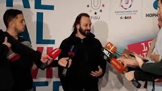 Илья Авербух о церемонии открытия универсиады