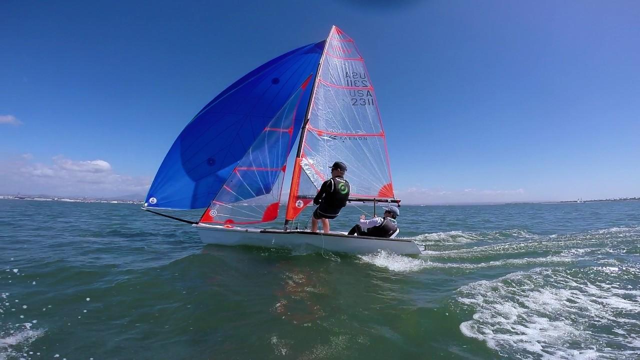 29er sailing with gopro - YouTube