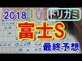 富士ステークス 2018 最終予想 【競馬予想】