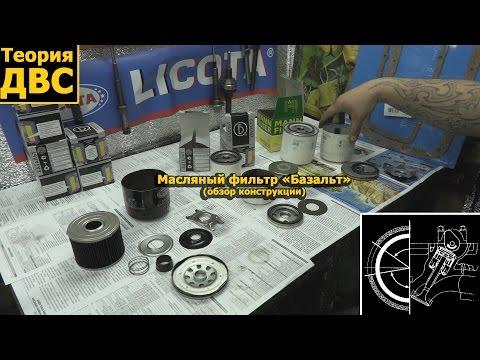 """Масляный фильтр """"Базальт"""" (обзор конструкции)"""