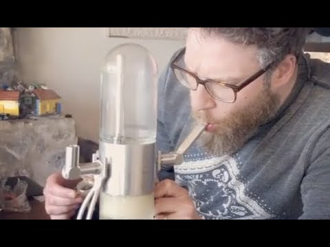 Seth Rogen Takes Smoking To A Whole New Level  Most Expensivest