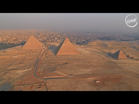 Sébastien Léger live at the Great Pyramids of Giza, in Egypt for Cercle
