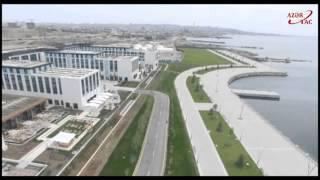 Президент Ильхам Алиев ознакомился с условиями Баку Белый город(Президент Ильхам Алиев ознакомился с условиями, созданными на бульваре Баку Белый город., 2015-05-16T07:25:21.000Z)