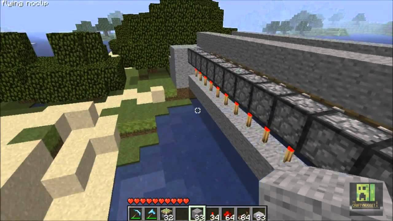How to Build a Piston Drawbridge in Minecraft recommendations