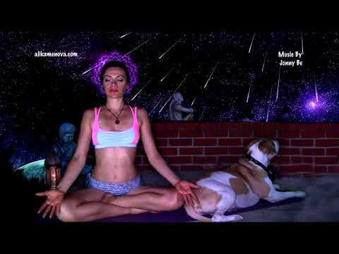 "Music for Vinyasa Flow Power Yoga Energize Crown Chakra by Jonny Be ""Top Chakra"""