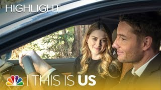 Kevin Comforts Sophie After Her Mom's Funeral - This Is Us